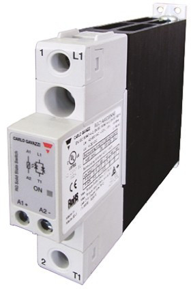 Твердотельные реле RGC1A60A30KKE Carlo Gavazzi 30 A SPST Solid State Relay, Zero Crossing, Chassis Mount, 600 V ac Maximum Load
