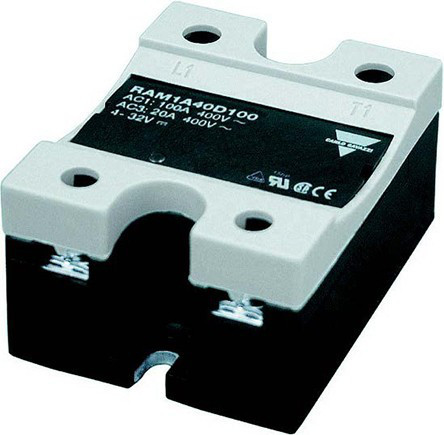 Твердотельные реле RAM1A60D125 Carlo Gavazzi 125 A Solid State Relay, Zero, Panel Mount, 660 V ac Maximum Load