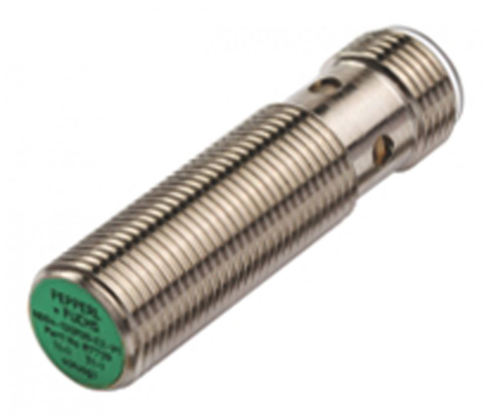 Индуктивные датчики положения NBB4-12GM30-E2-T-V1 Pepperl + Fuchs, M12 x 1, PNP Inductive Sensor 45mm Length, 10 → 30 V supply voltage , IP67 Rating