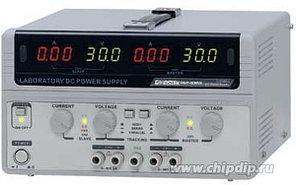 GPS-74303, Источник питания, 0-30V-3Ax2;5V;12V,4хLED (Госреестр) (GPS-74303)