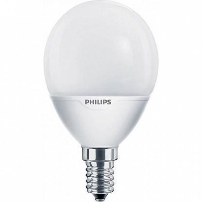 Лампа КЛЛ энергосберегающая   7Вт Softone Lustre 7W WW E14 220-240V  871829165817700 Philips